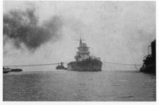 Cavour: trasferimento al Cantiere Navale San Marco