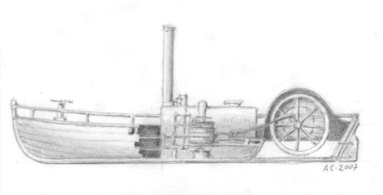 Charlotte Dundas - 1802