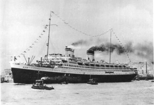 viaggio inaugurale del Rex - 27 settembre 1932