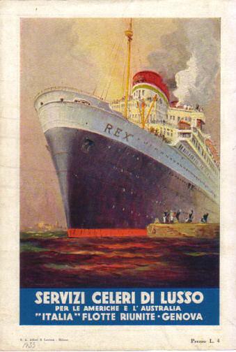 """""""Italia"""" Flotte Riunite - Genova"""