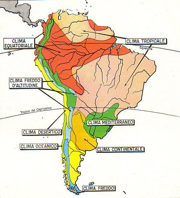 Cartina Climatica America Settentrionale.Americhe Lessons Tes Teach
