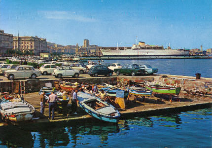 Trieste, le rive