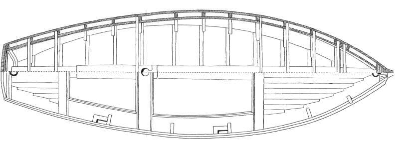 riduzione da disegno tecnico di Mario Marzari (1978)