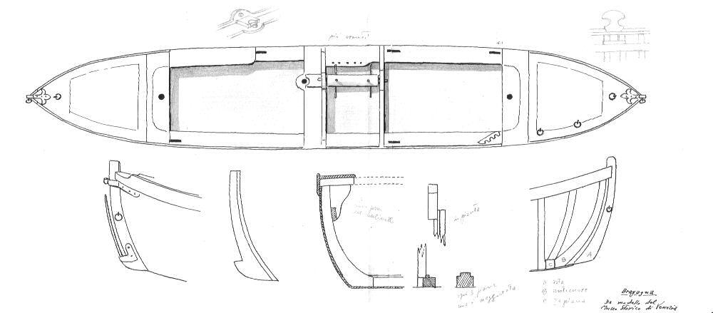 Bragagna-da modello del Museo Storico della Navigazione - Venezia