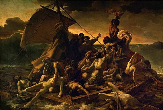 Gericault - Le radeau de la Méduse - 1819